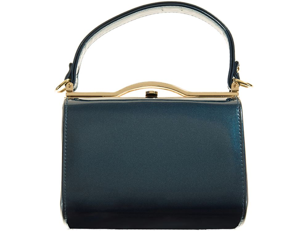 NEW-SMALL-HARD-COMPACT-METALLIC-TRIM-NEON-COLOURS-PATENT-LEATHER-CLUTCH-BAG