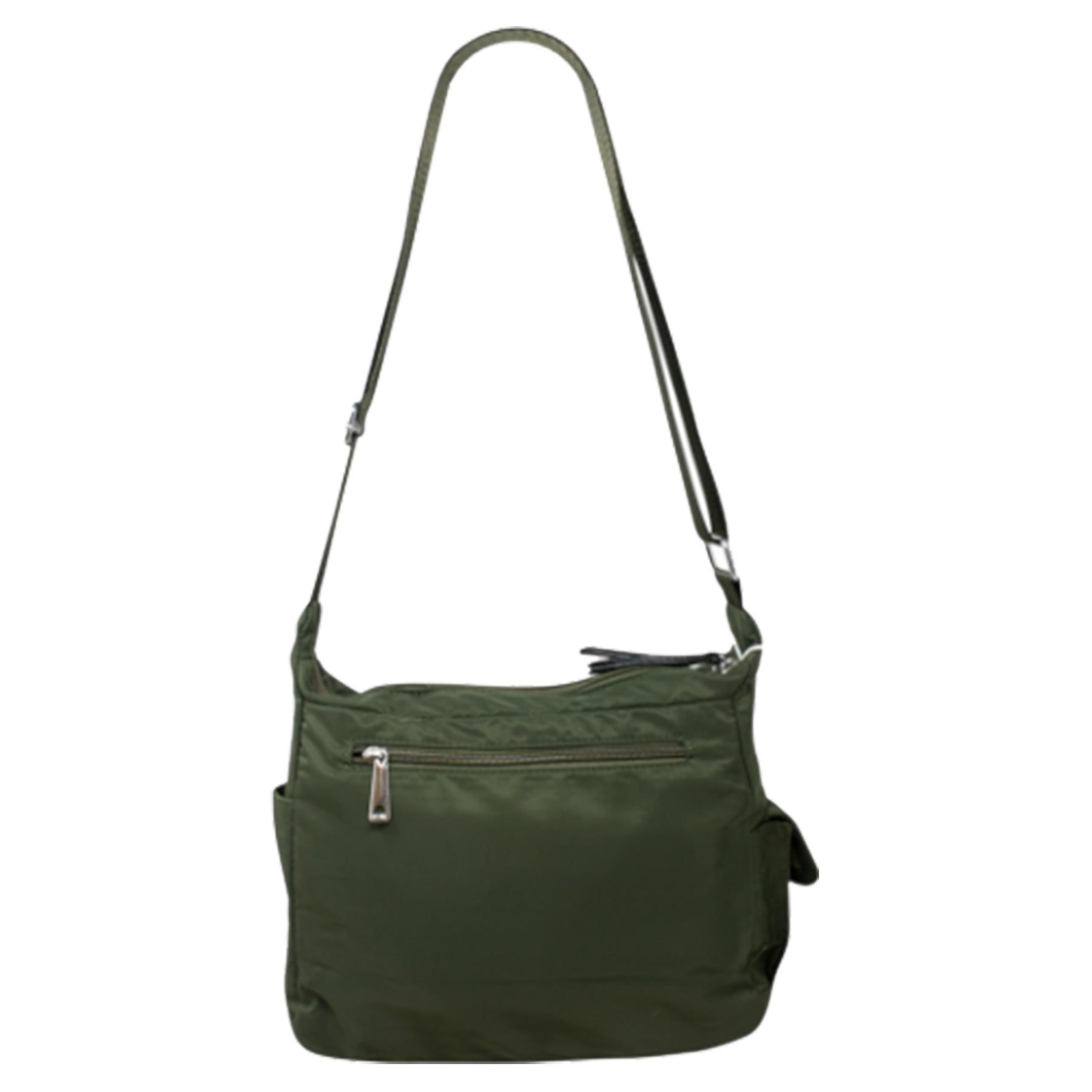New-Ladies-Men-s-Showerproof-School-College-Practical-Basic-Crossbody-Bag thumbnail 18