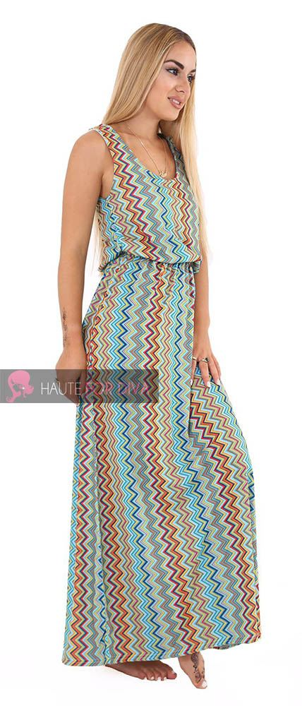 LADIES-NEW-PAISLEY-DIAMOND-SLEEVELESS-TOGA-SUMMER-DRESS-UK-8-26 thumbnail 6