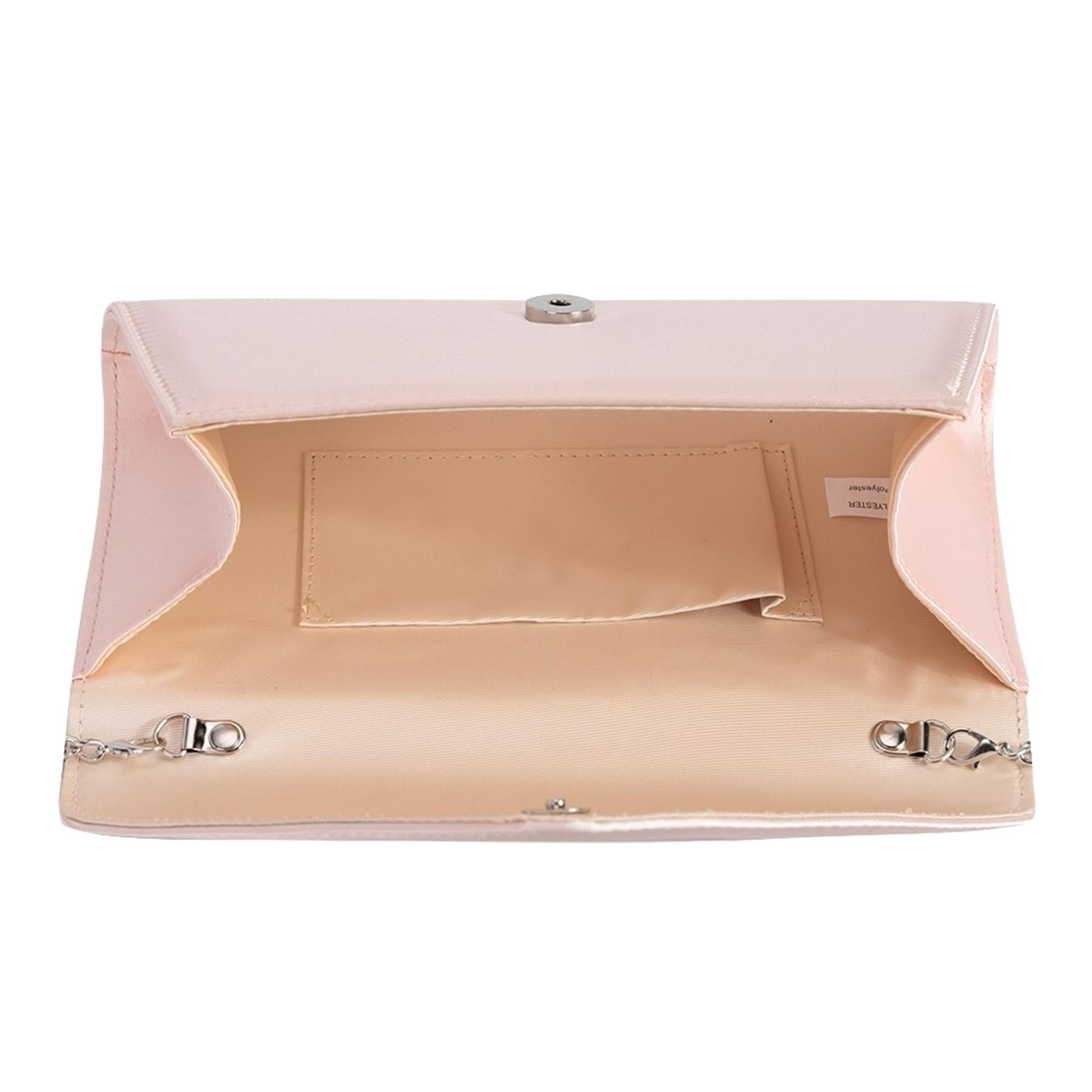 New-Ladies-Stylish-3D-Envelope-Satin-Prom-Party-Clutch-Bag-Purse thumbnail 10