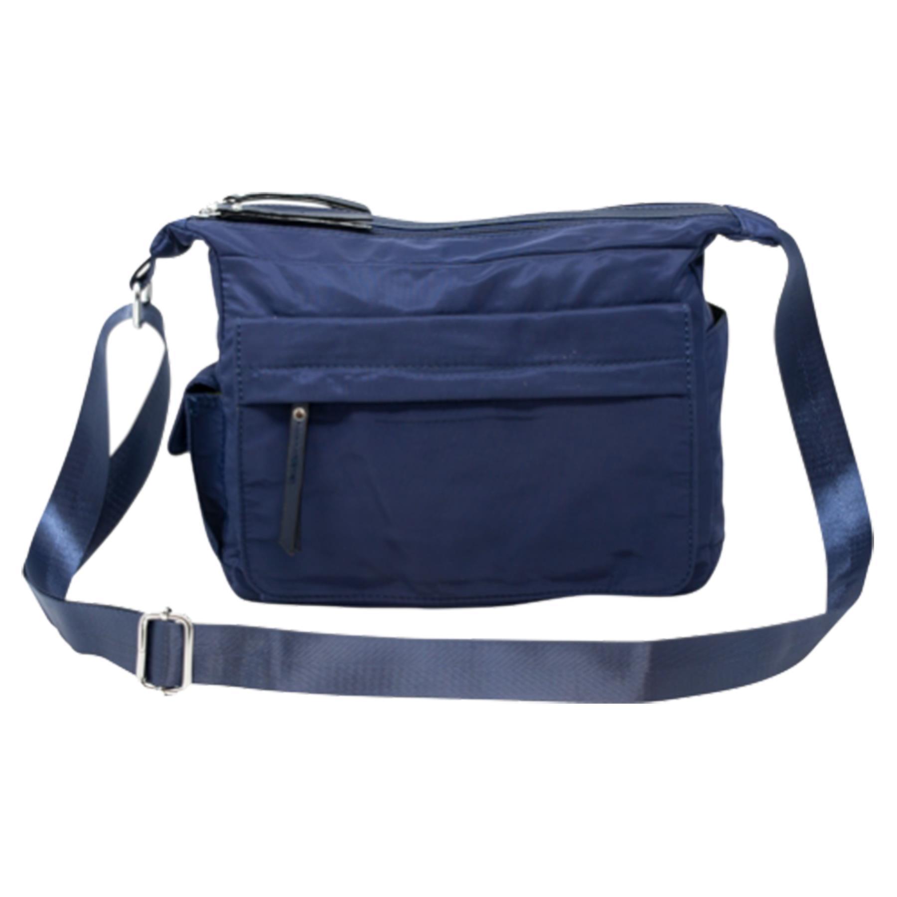 New-Ladies-Men-s-Showerproof-School-College-Practical-Basic-Crossbody-Bag thumbnail 12