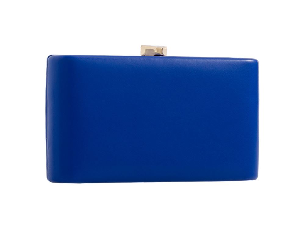 New-Ladies-Synthetic-Leather-Hardcase-Evening-Party-Clutch-Bag-Purse thumbnail 10