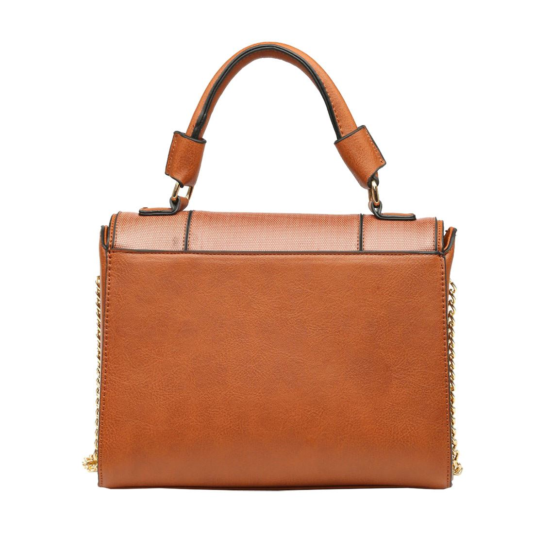 New-Synthetic-Leather-Kingfisher-Flower-Print-Ladies-Tote-Bag-Handbag thumbnail 7