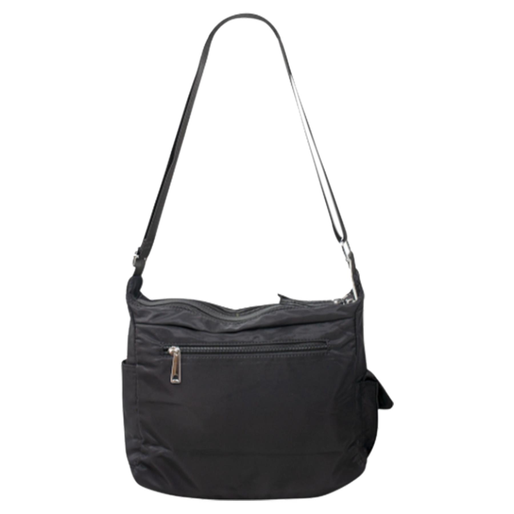 New-Ladies-Men-s-Showerproof-School-College-Practical-Basic-Crossbody-Bag thumbnail 4