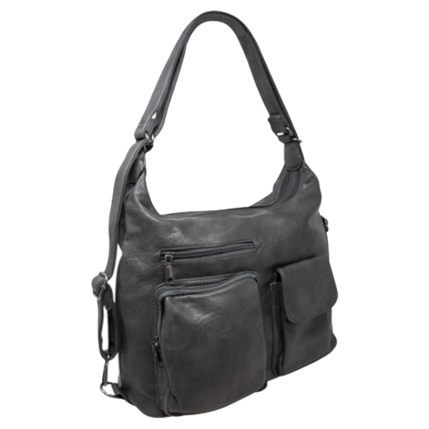 New-Women-s-Men-s-Faux-Leather-Multi-Purpose-Crossbody-Messenger-Bag thumbnail 19