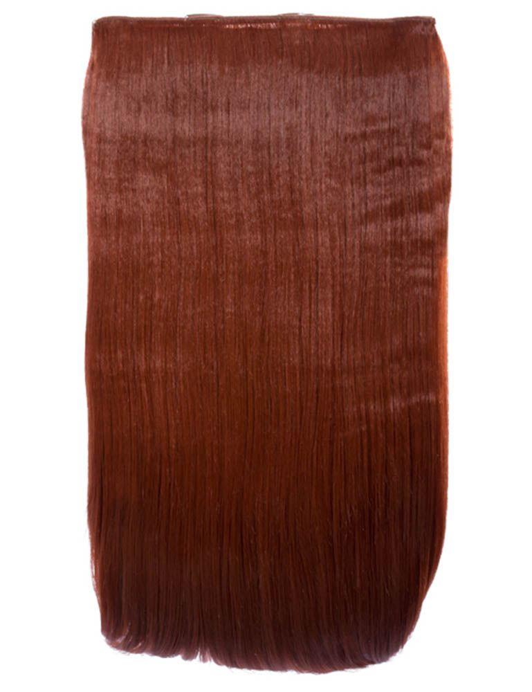 de-mujer-nuevo-liso-una-sola-pieza-24-Clip-Pelo-Sintetico-Extension-g0005b