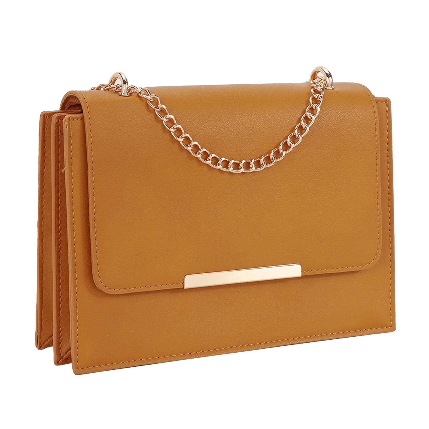 New-Women-s-Faux-Leather-Elegant-Stylish-Fashion-Shoulder-Clutch-Bag thumbnail 9