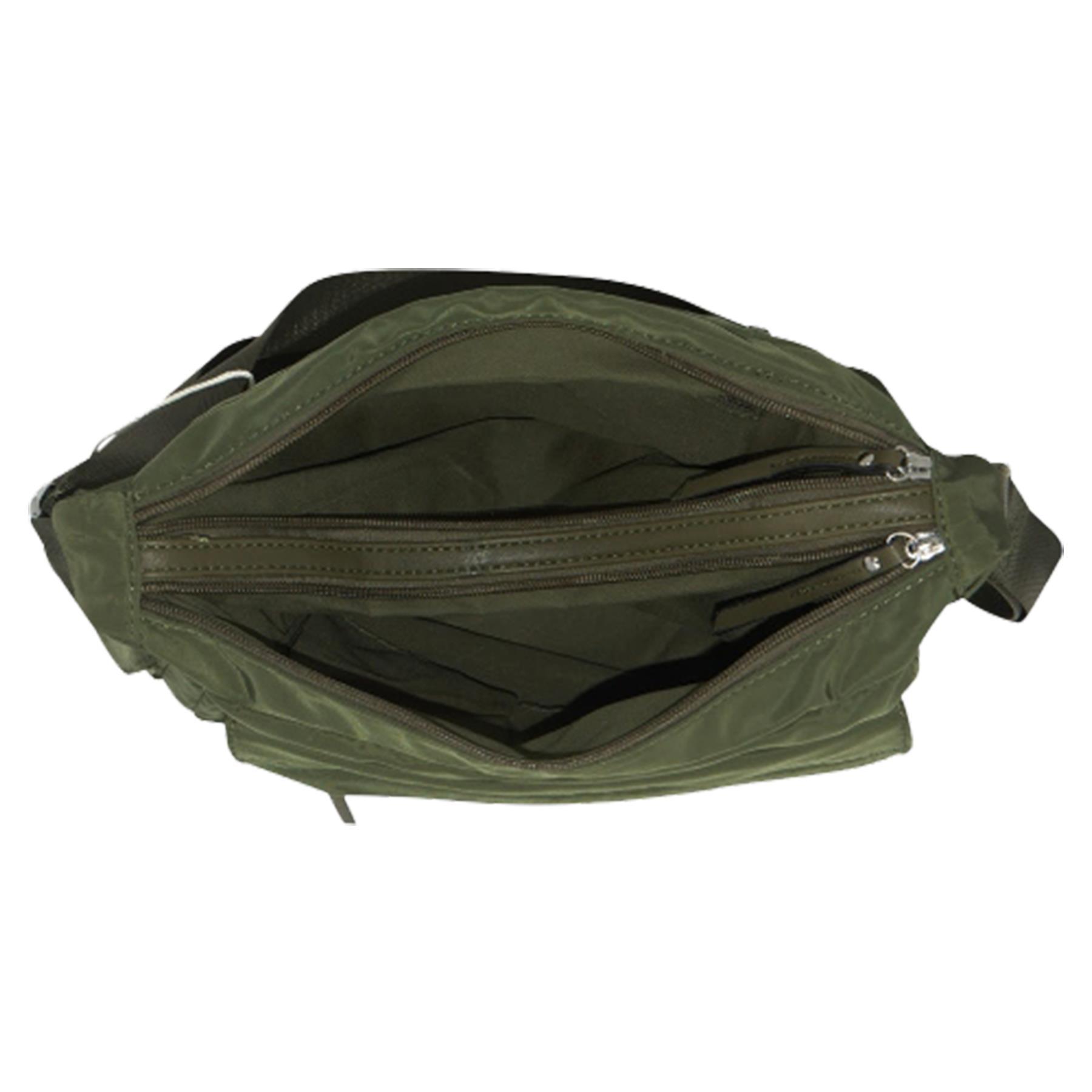 New-Ladies-Men-s-Showerproof-School-College-Practical-Basic-Crossbody-Bag thumbnail 22