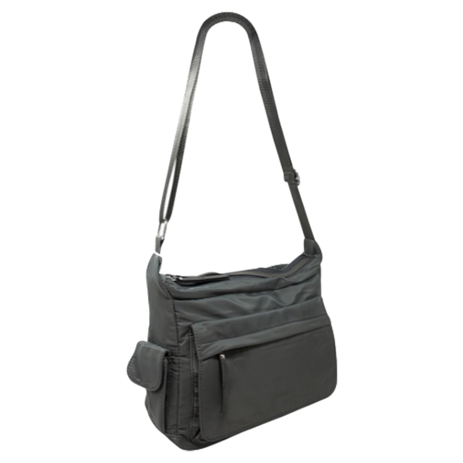 New-Ladies-Men-s-Showerproof-School-College-Practical-Basic-Crossbody-Bag thumbnail 24