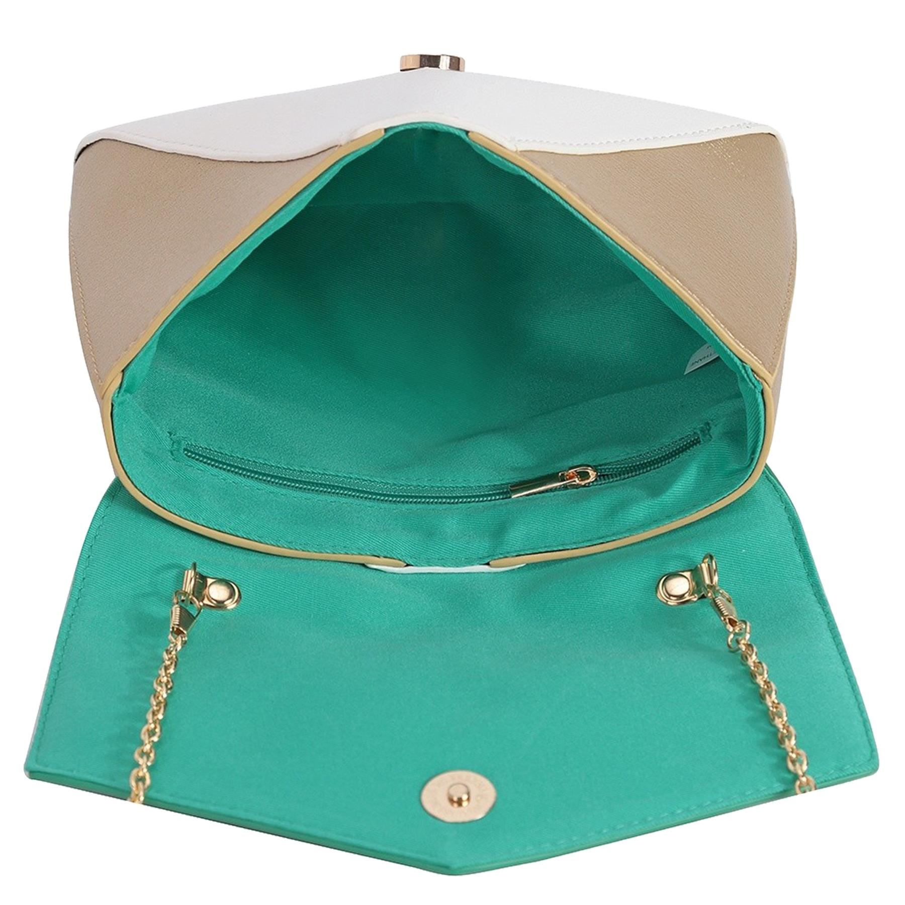 New-Women-s-Faux-Leather-Patent-Multicolour-Envelope-Clutch-Bag-Purse thumbnail 10