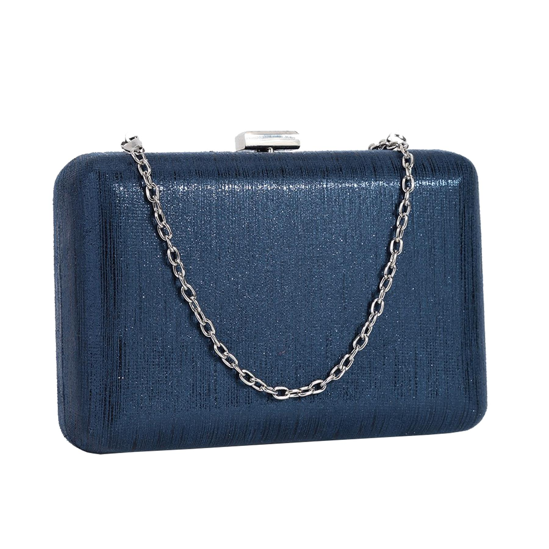 New-Ladies-Hard-Compact-Metallic-Effect-Faux-Leather-Party-Clutch-Bag thumbnail 6