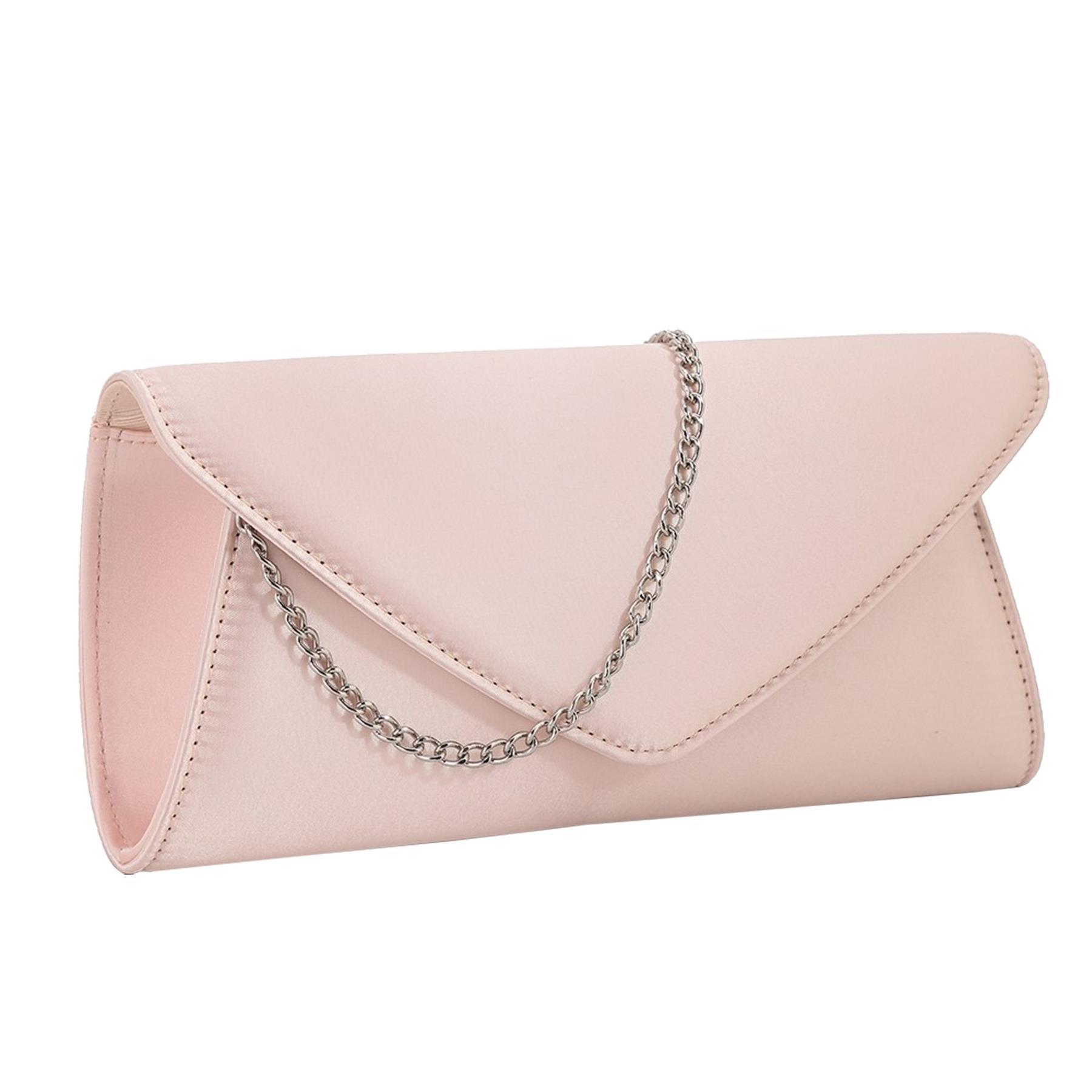 New-Ladies-Stylish-3D-Envelope-Satin-Prom-Party-Clutch-Bag-Purse thumbnail 9