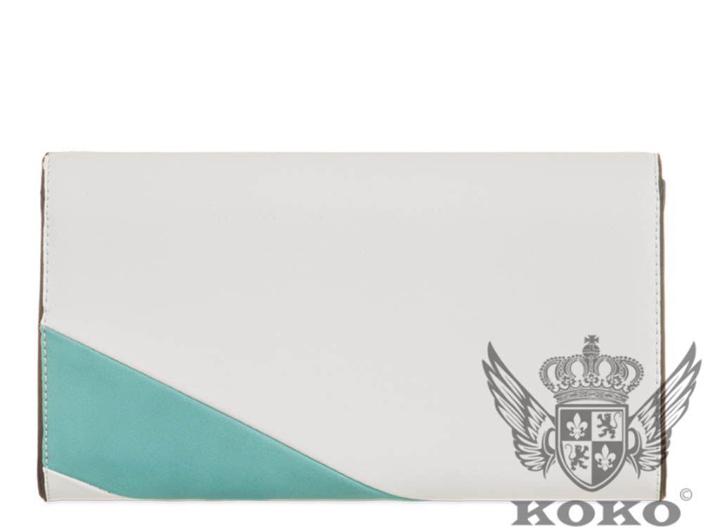 pannello Aqua nuove giallo Borsa tracolla nero in esaurito delle a rosa Sea esaurito donne con a contrasto bianco da sera ecopelle POgX4qO