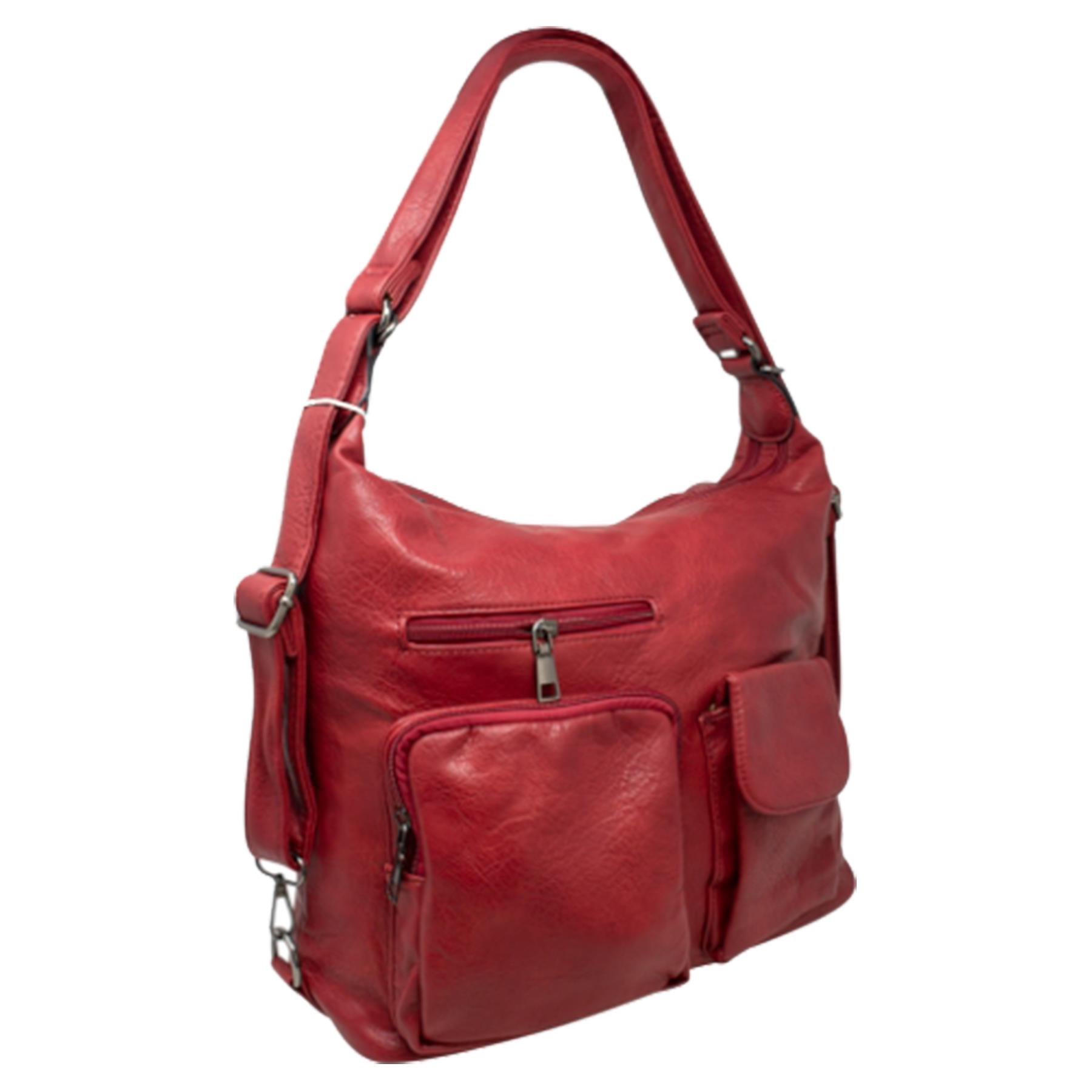 New-Women-s-Men-s-Faux-Leather-Multi-Purpose-Crossbody-Messenger-Bag thumbnail 23