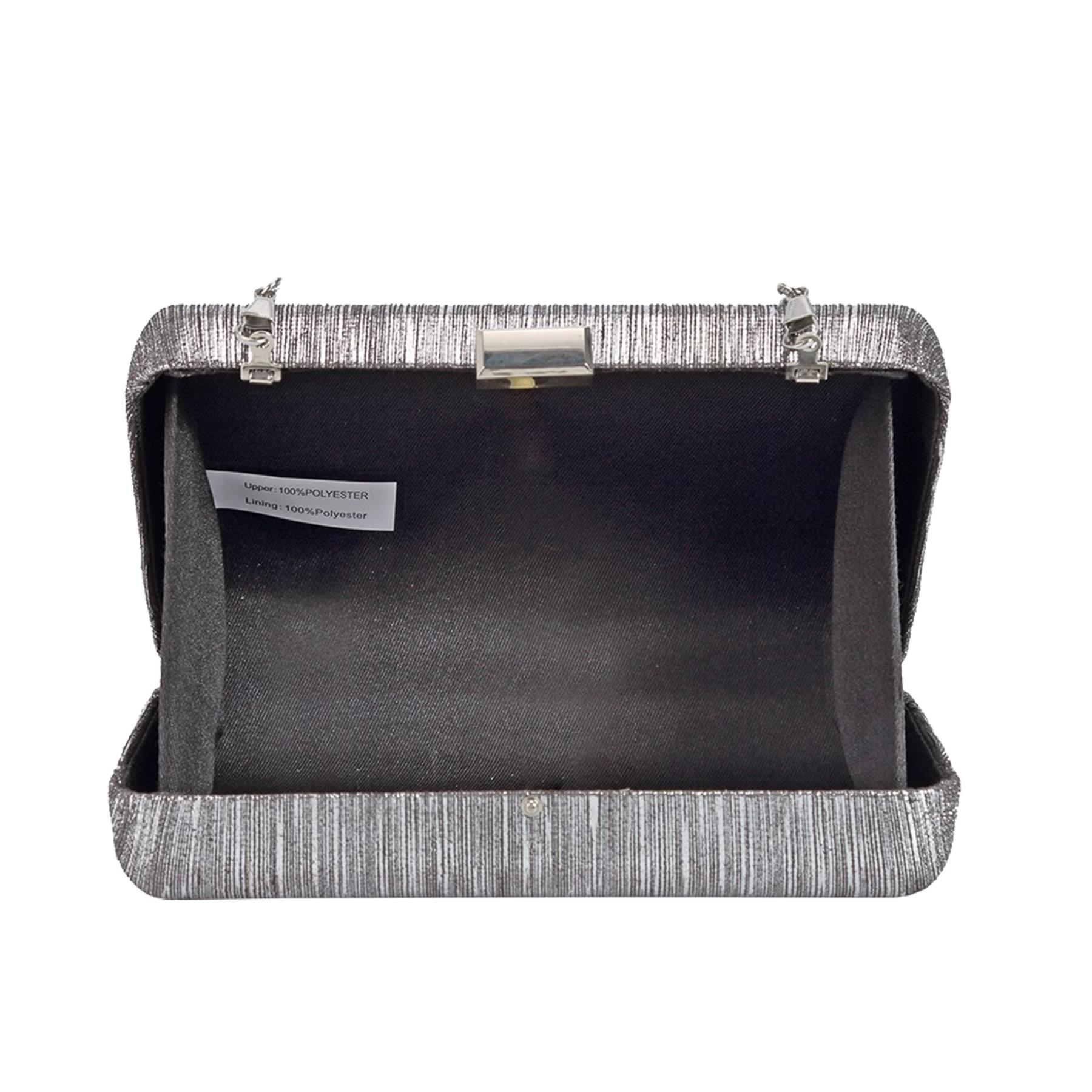 New-Ladies-Hard-Compact-Metallic-Effect-Faux-Leather-Party-Clutch-Bag thumbnail 13