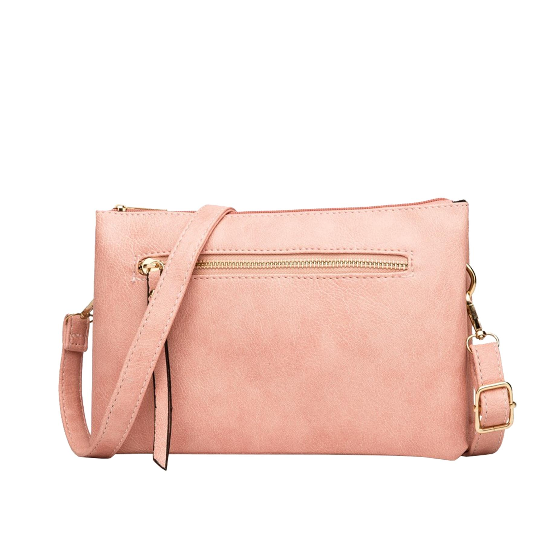 New-Plain-Synthetic-Leather-Women-s-Simple-Casual-Cross-Body-Bag thumbnail 9