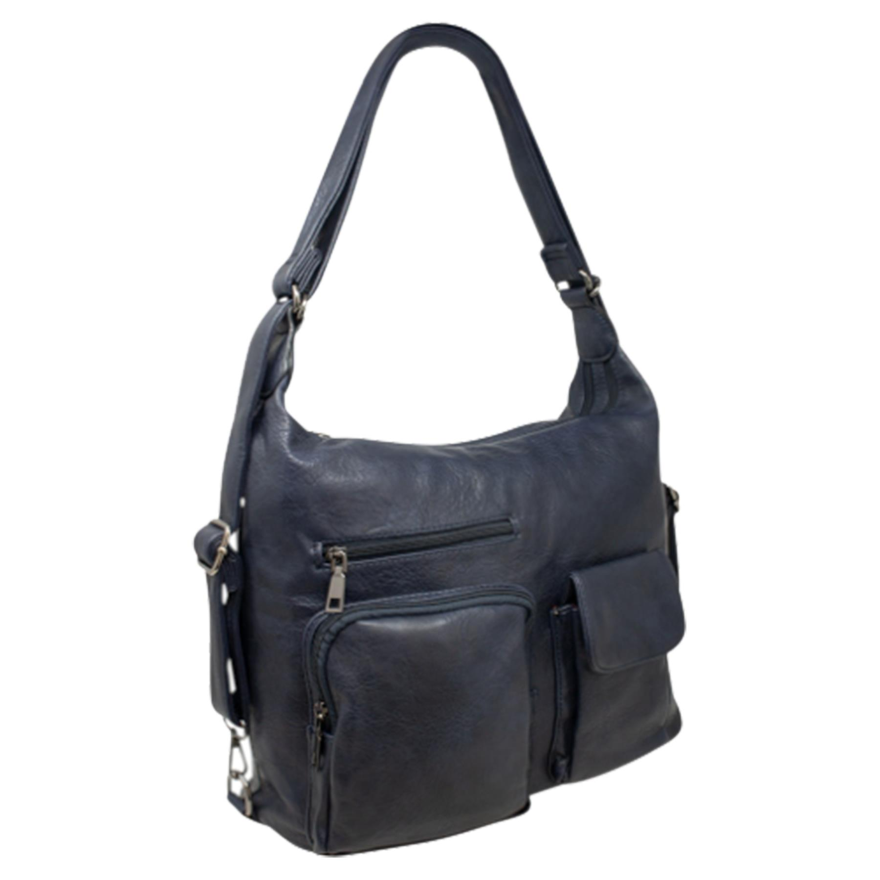 New-Women-s-Men-s-Faux-Leather-Multi-Purpose-Crossbody-Messenger-Bag thumbnail 11