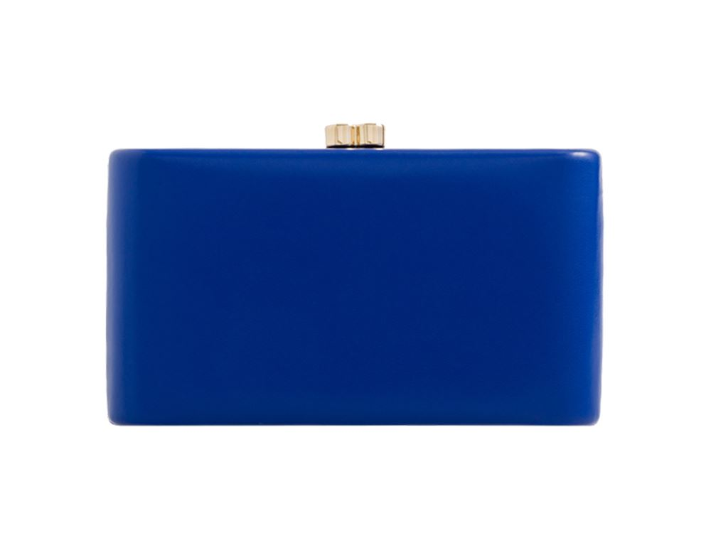 New-Ladies-Synthetic-Leather-Hardcase-Evening-Party-Clutch-Bag-Purse thumbnail 11