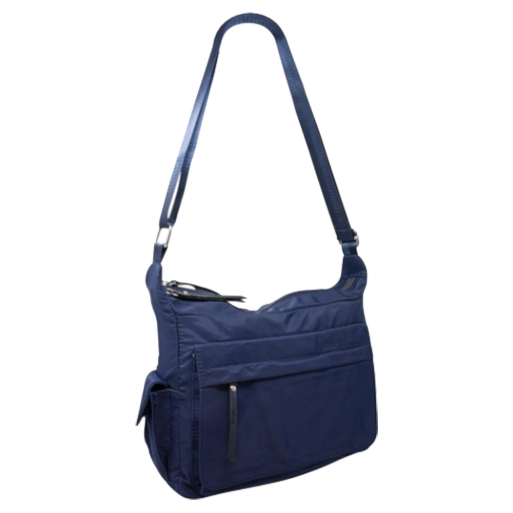 New-Ladies-Men-s-Showerproof-School-College-Practical-Basic-Crossbody-Bag thumbnail 10