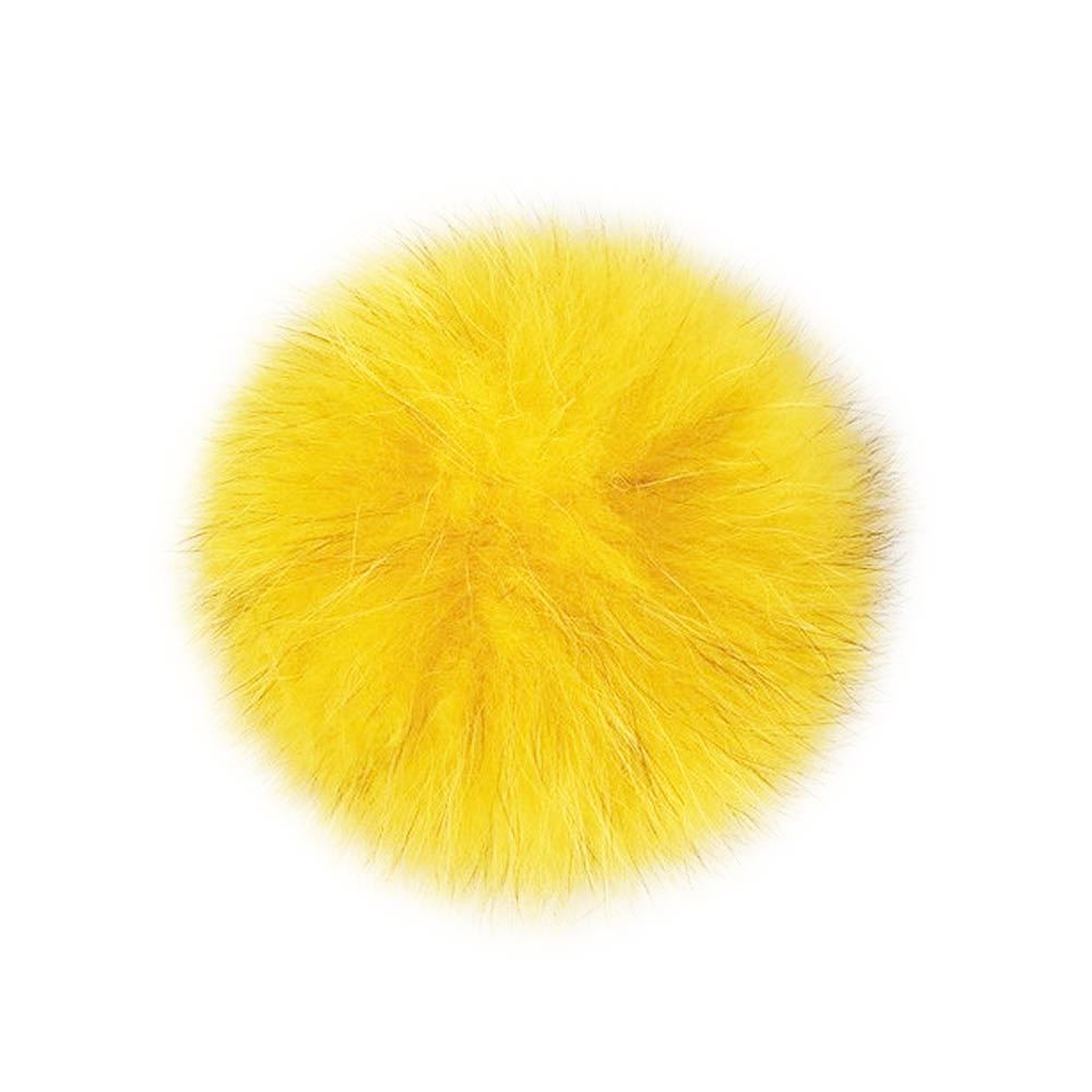 2d86d0da0a Real Fur Large Fluffy Detachable Pom Poms For Hats And Caps