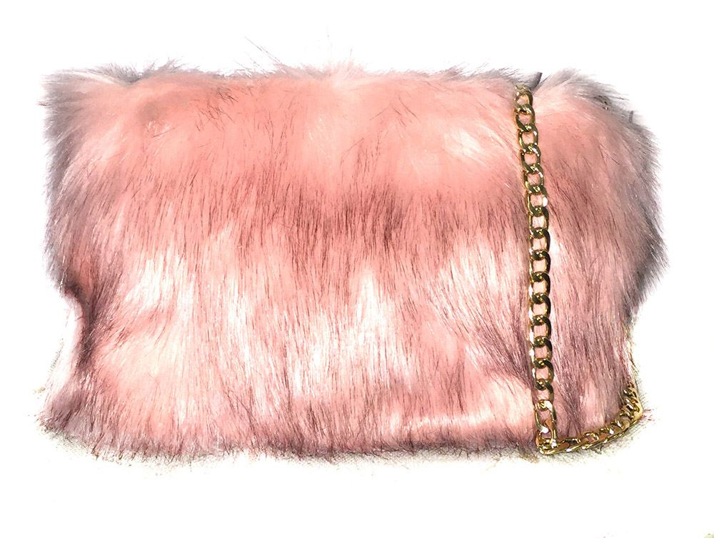 New Ladies Synthetic Soft Fur Rainbow Leopard Clutch Bag Shopper ... 791c6be05a813