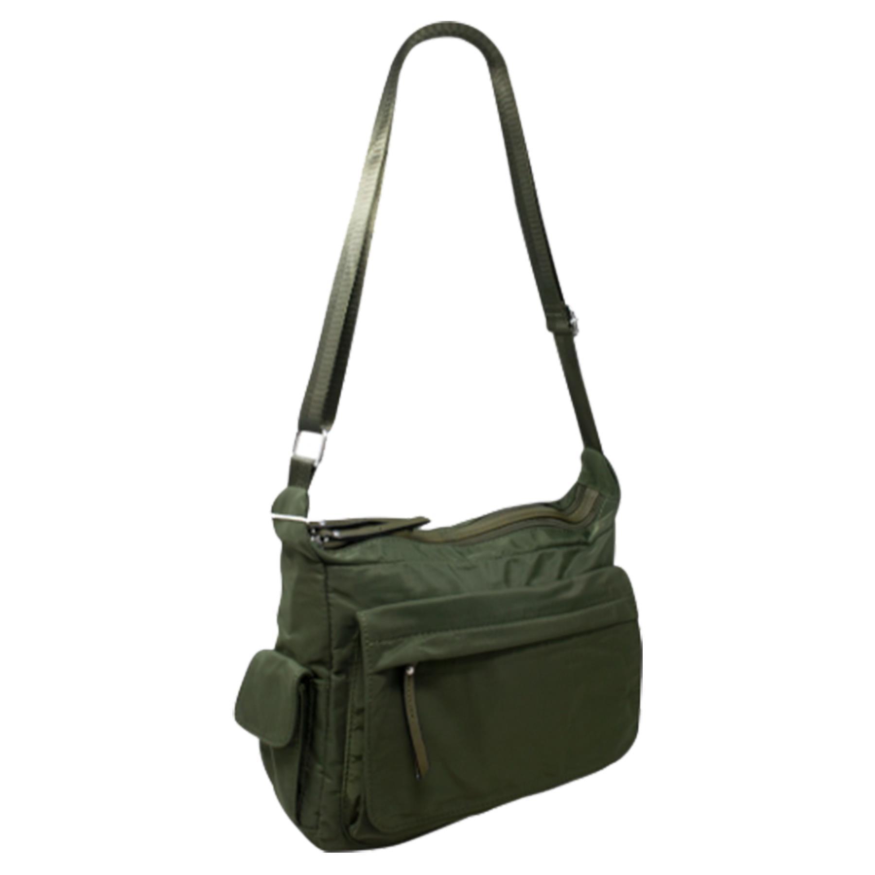New-Ladies-Men-s-Showerproof-School-College-Practical-Basic-Crossbody-Bag thumbnail 17