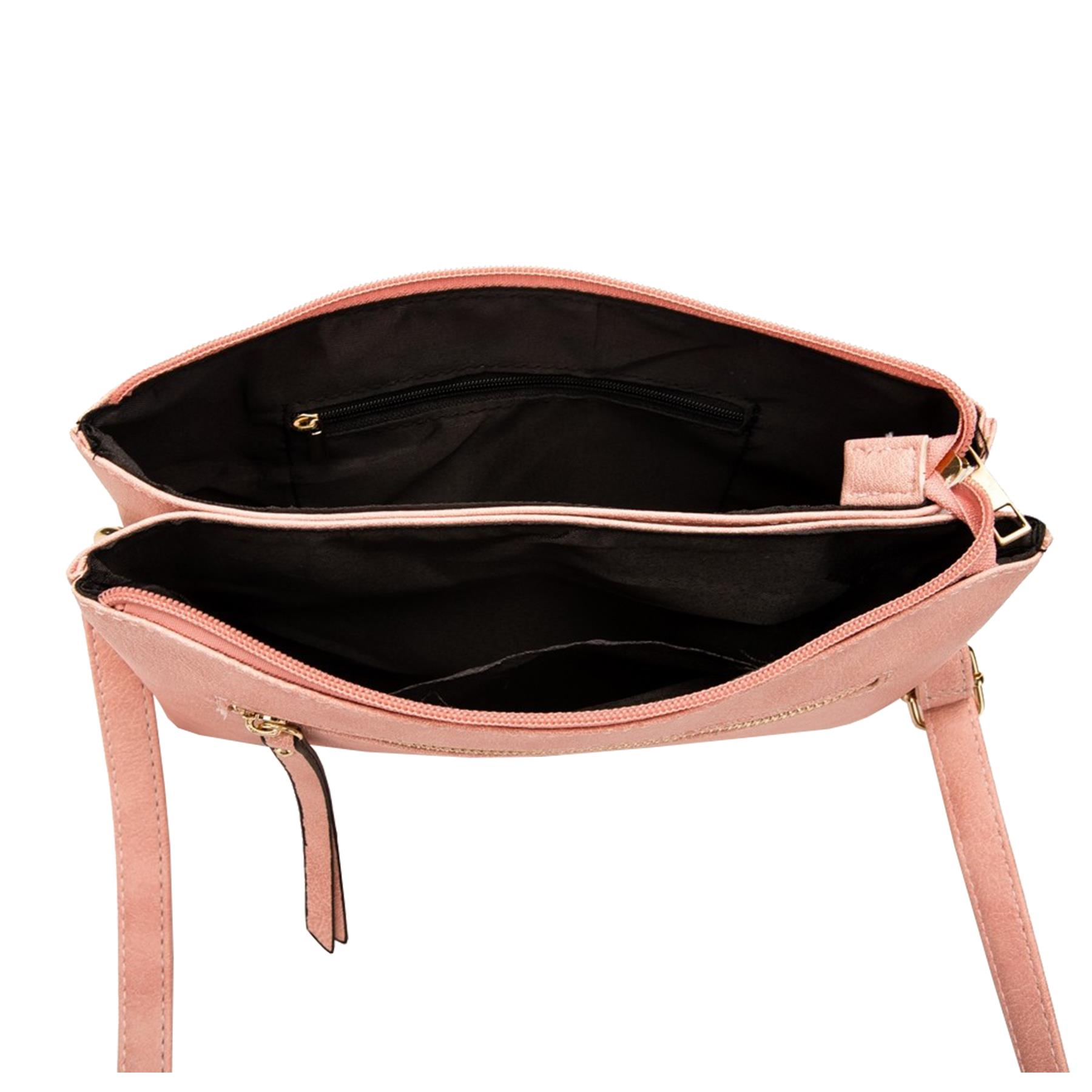 New-Plain-Synthetic-Leather-Women-s-Simple-Casual-Cross-Body-Bag thumbnail 10