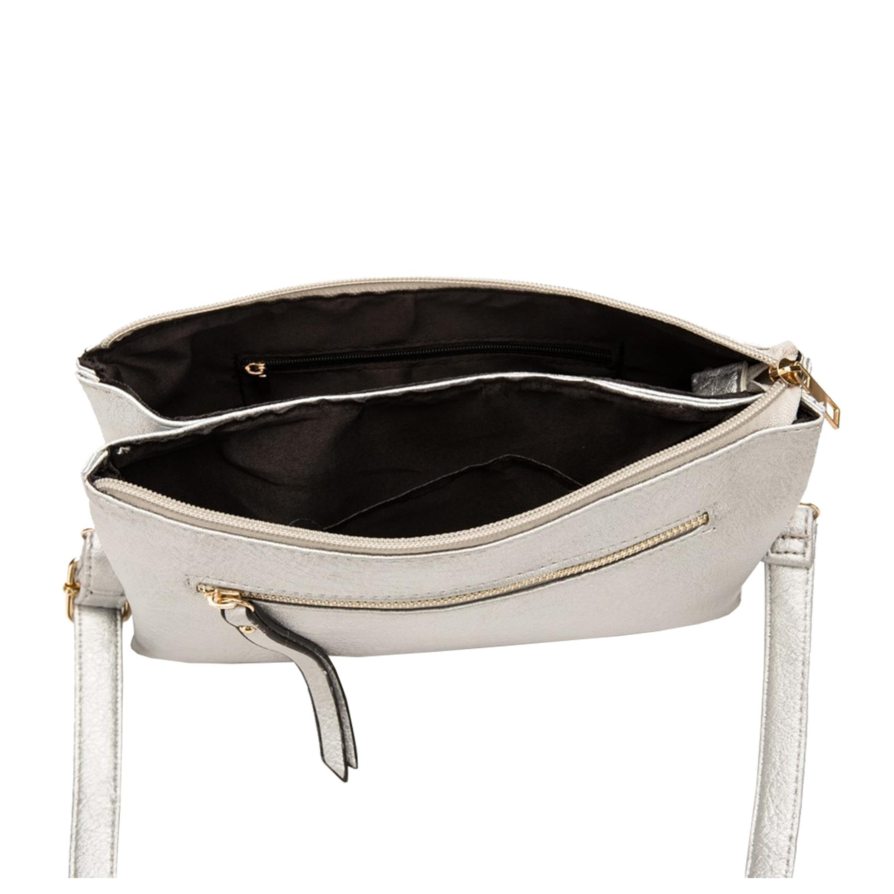 New-Plain-Synthetic-Leather-Women-s-Simple-Casual-Cross-Body-Bag thumbnail 13