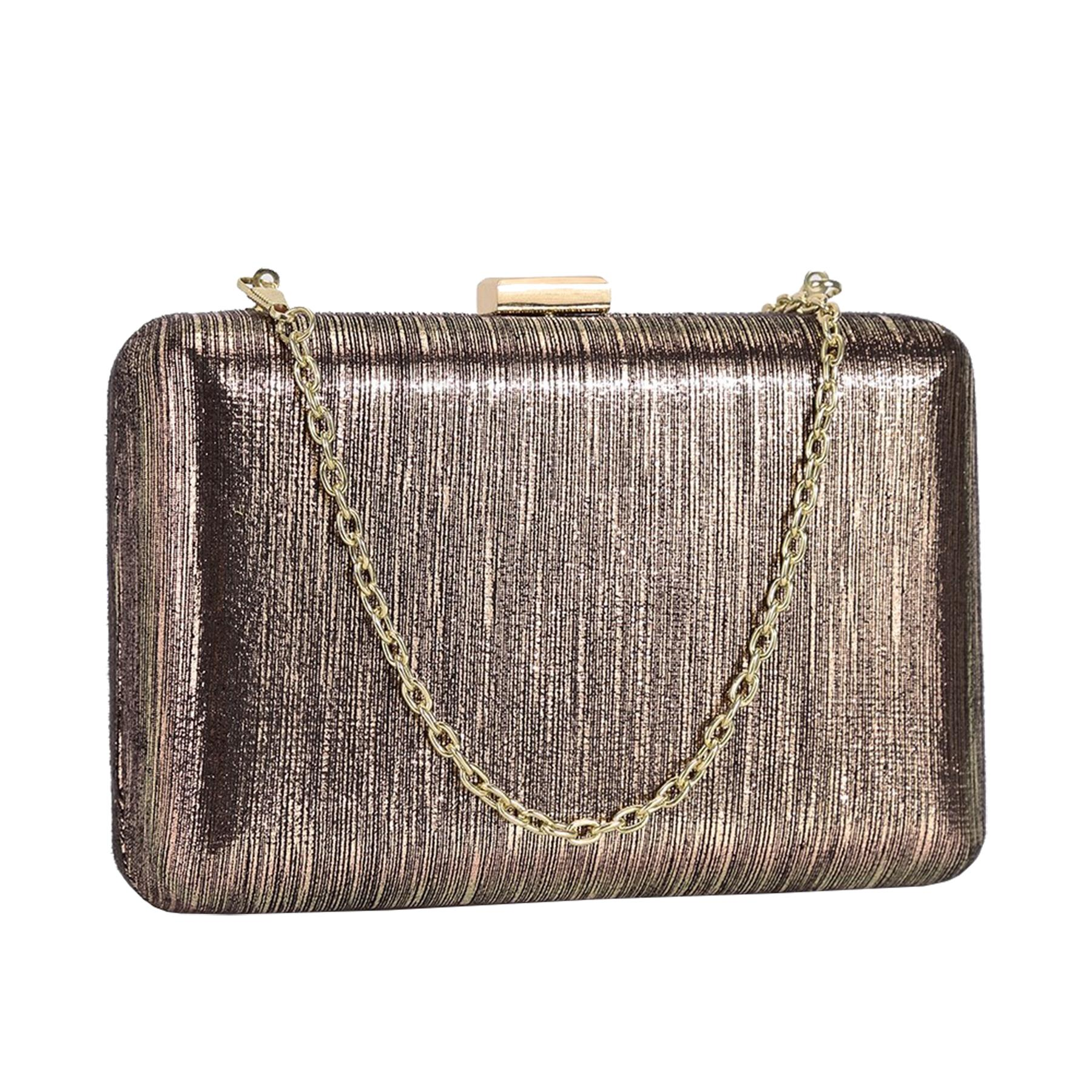 New-Ladies-Hard-Compact-Metallic-Effect-Faux-Leather-Party-Clutch-Bag thumbnail 9