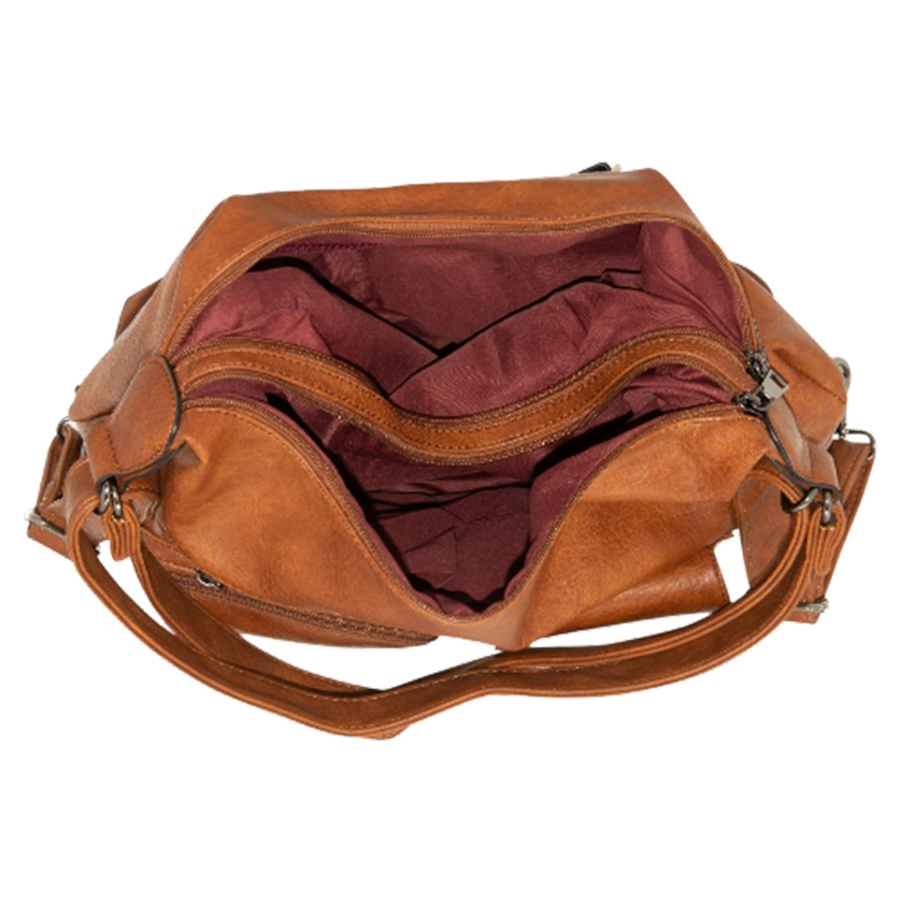 New-Women-s-Men-s-Faux-Leather-Multi-Purpose-Crossbody-Messenger-Bag thumbnail 9