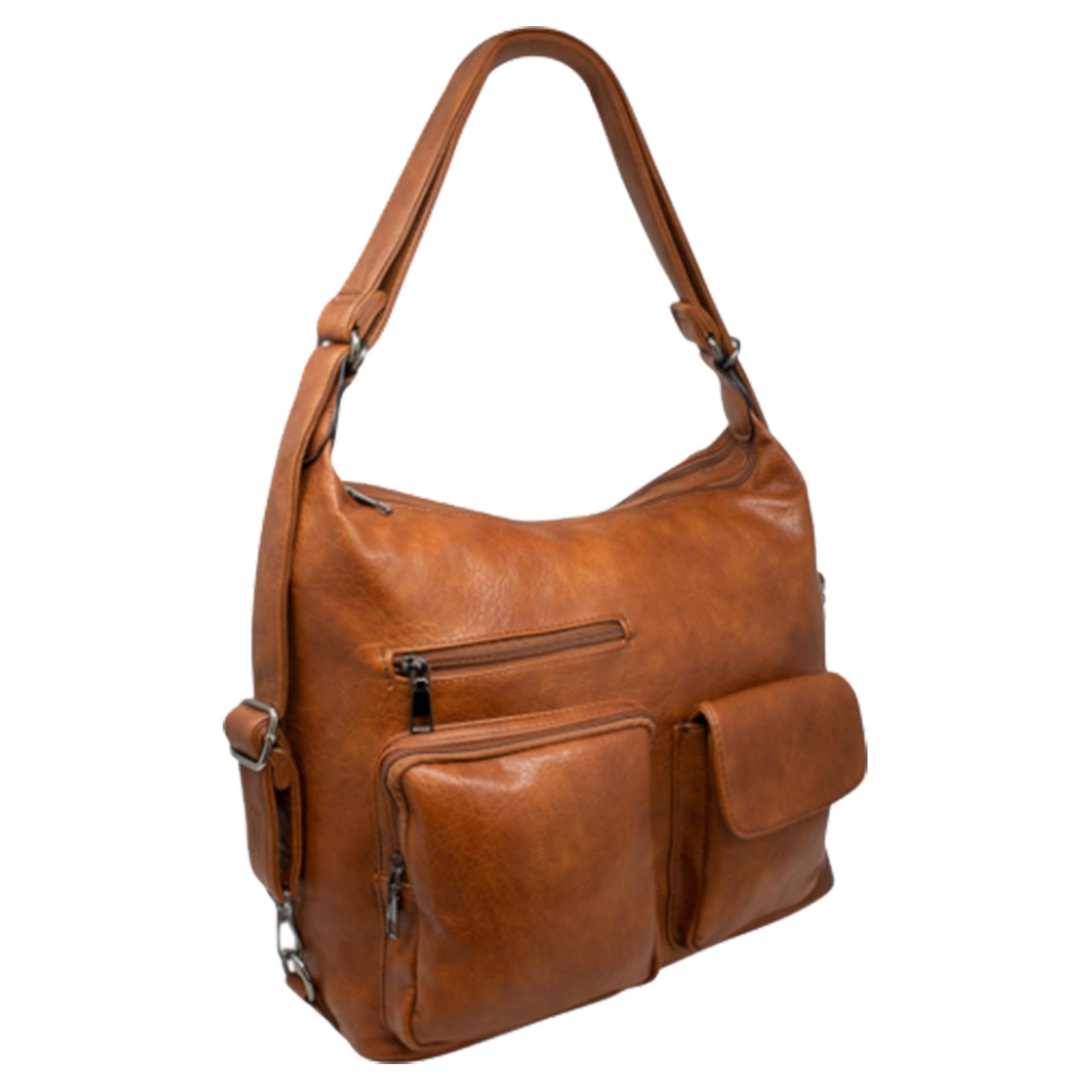 New-Women-s-Men-s-Faux-Leather-Multi-Purpose-Crossbody-Messenger-Bag thumbnail 7