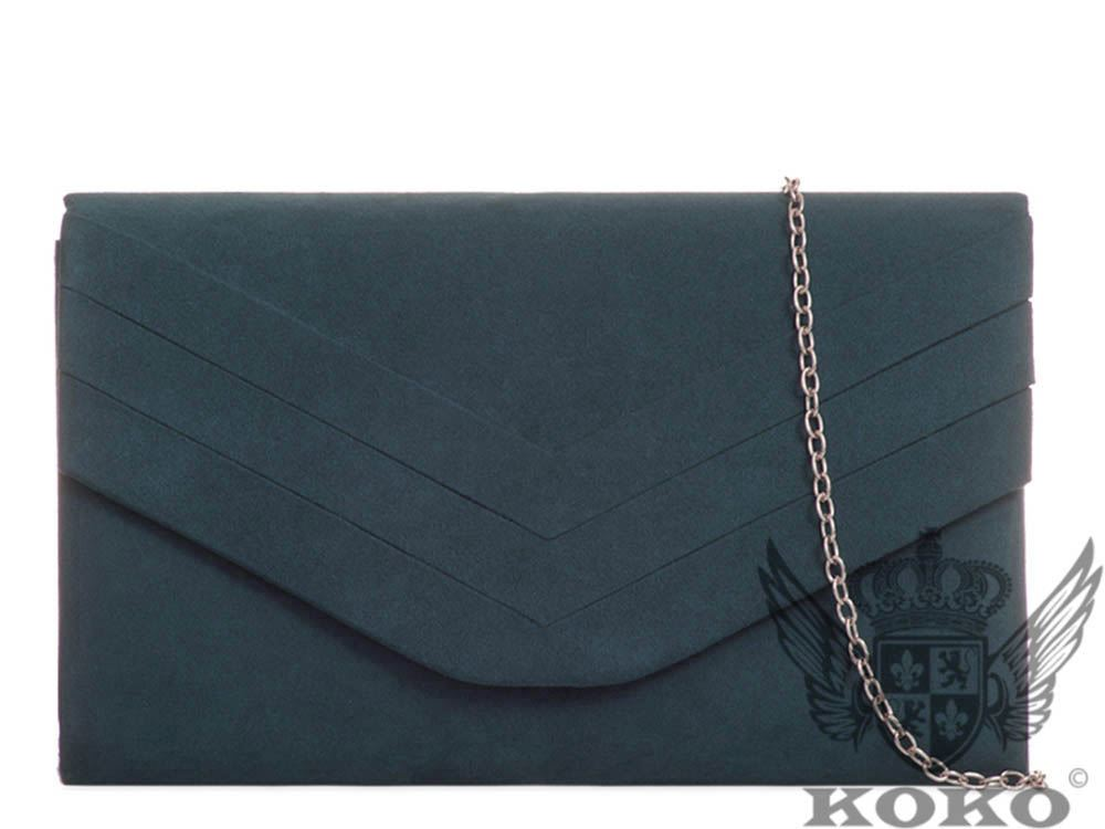 WOMENS-NEW-FAUX-SUEDE-DECORATED-FLAP-CHAIN-PARTY-CLUTCH-BAG-HANDBAG
