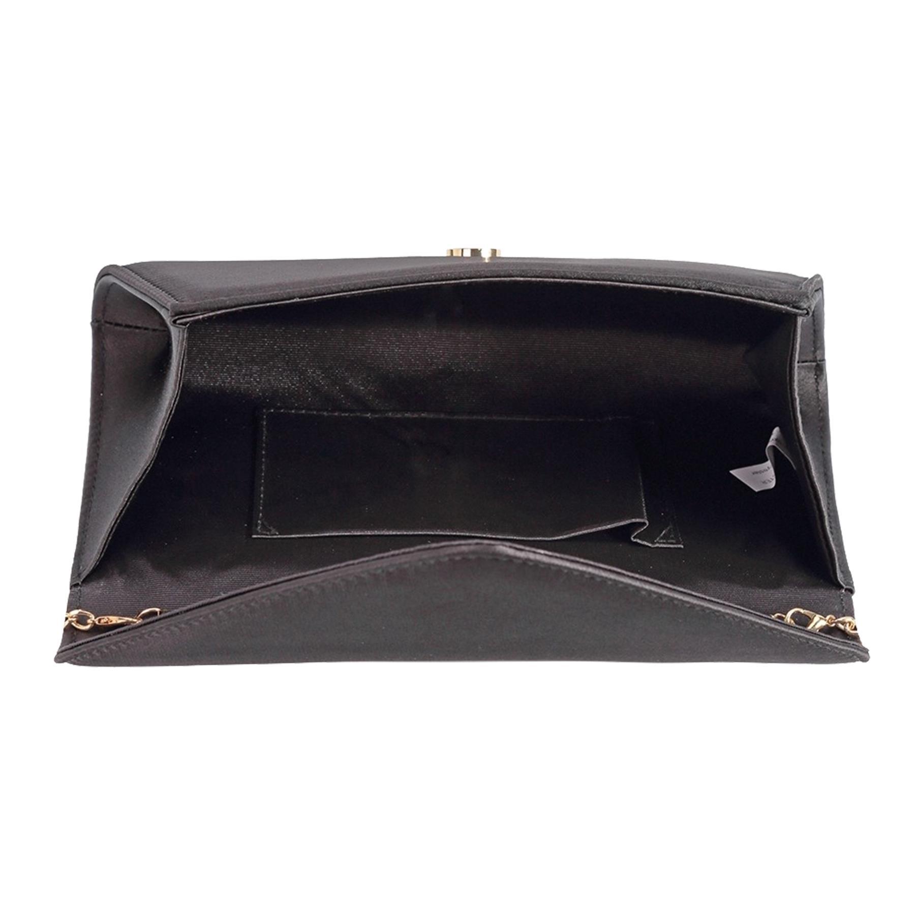 New-Ladies-Stylish-3D-Envelope-Satin-Prom-Party-Clutch-Bag-Purse thumbnail 4