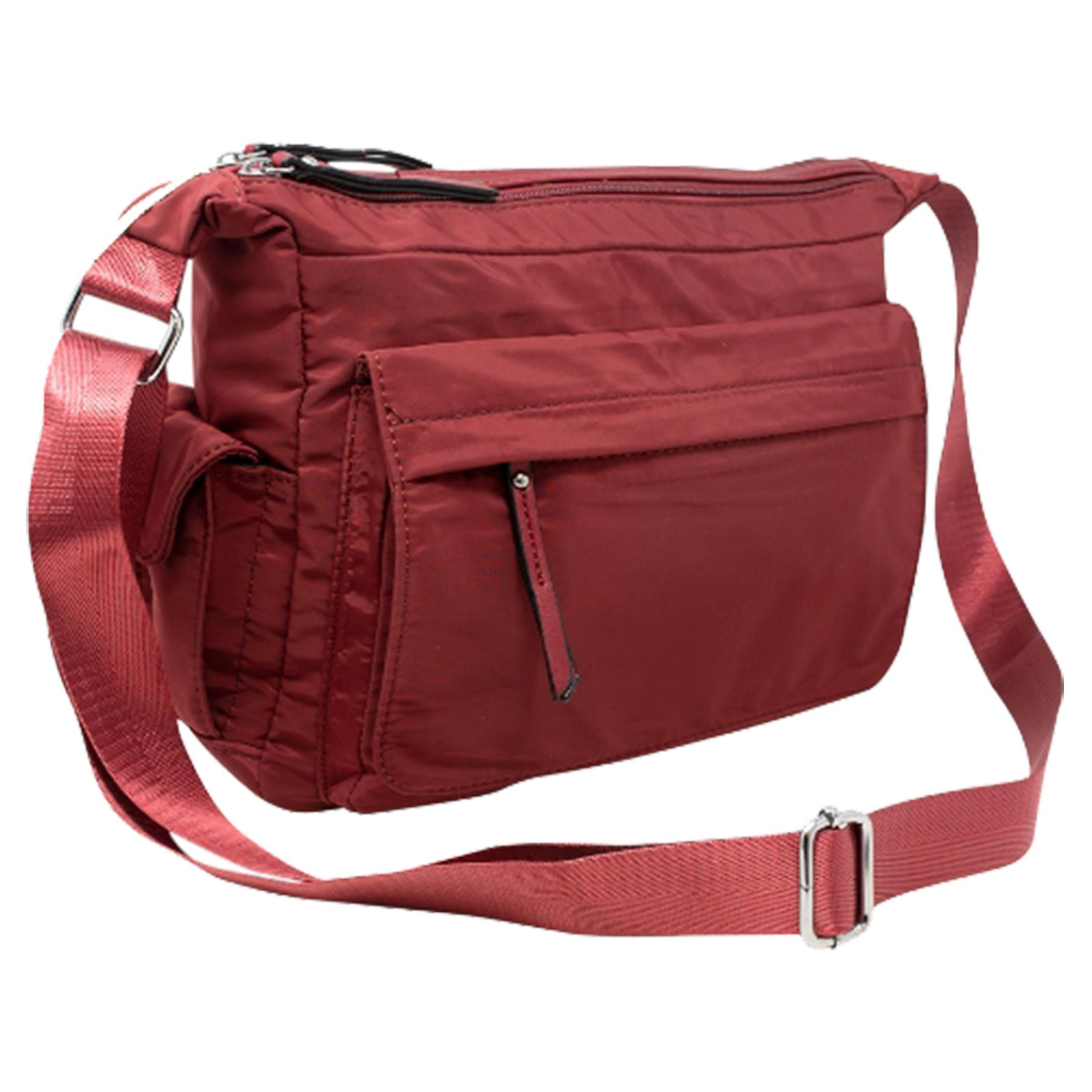 New-Ladies-Men-s-Showerproof-School-College-Practical-Basic-Crossbody-Bag thumbnail 33