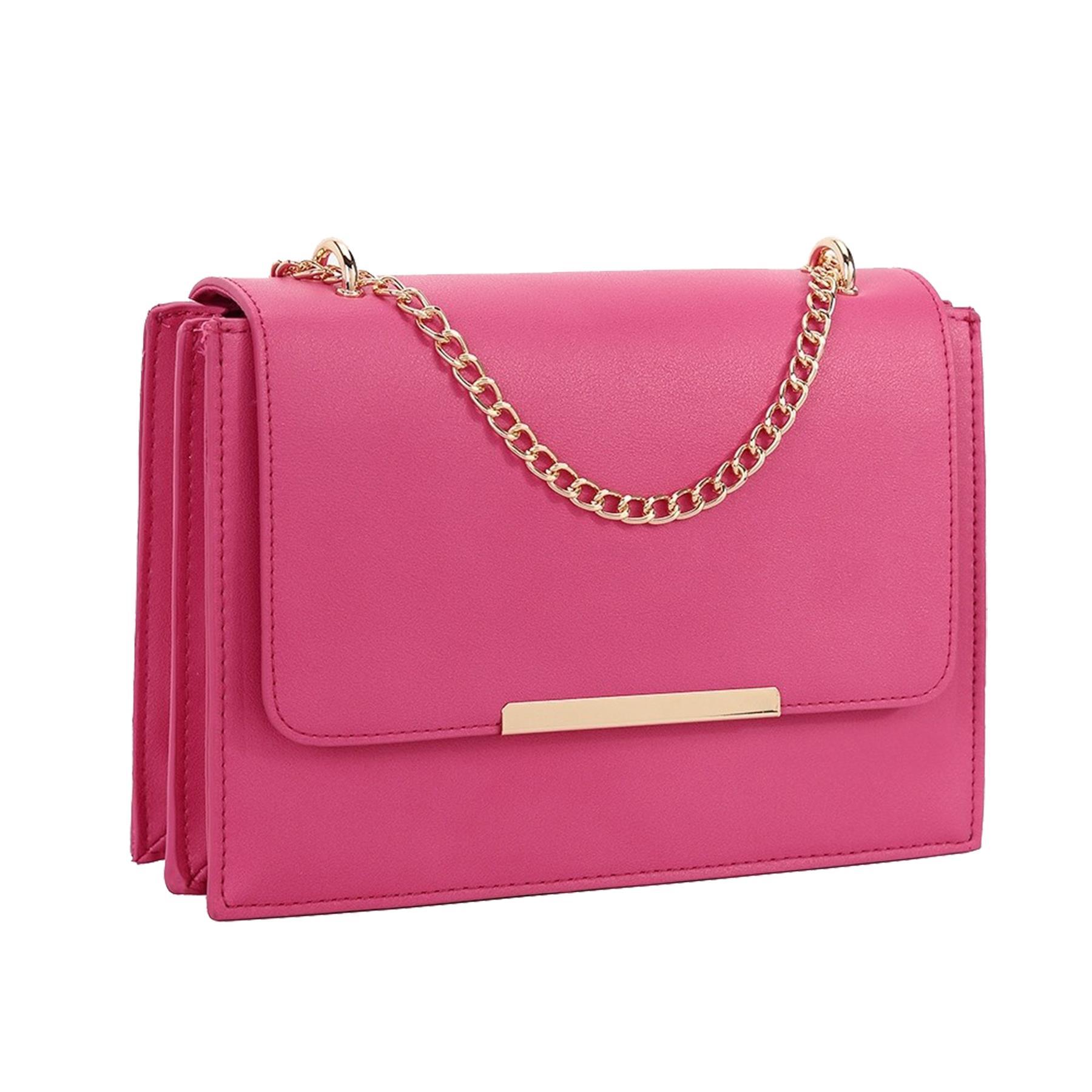 New-Women-s-Faux-Leather-Elegant-Stylish-Fashion-Shoulder-Clutch-Bag thumbnail 15