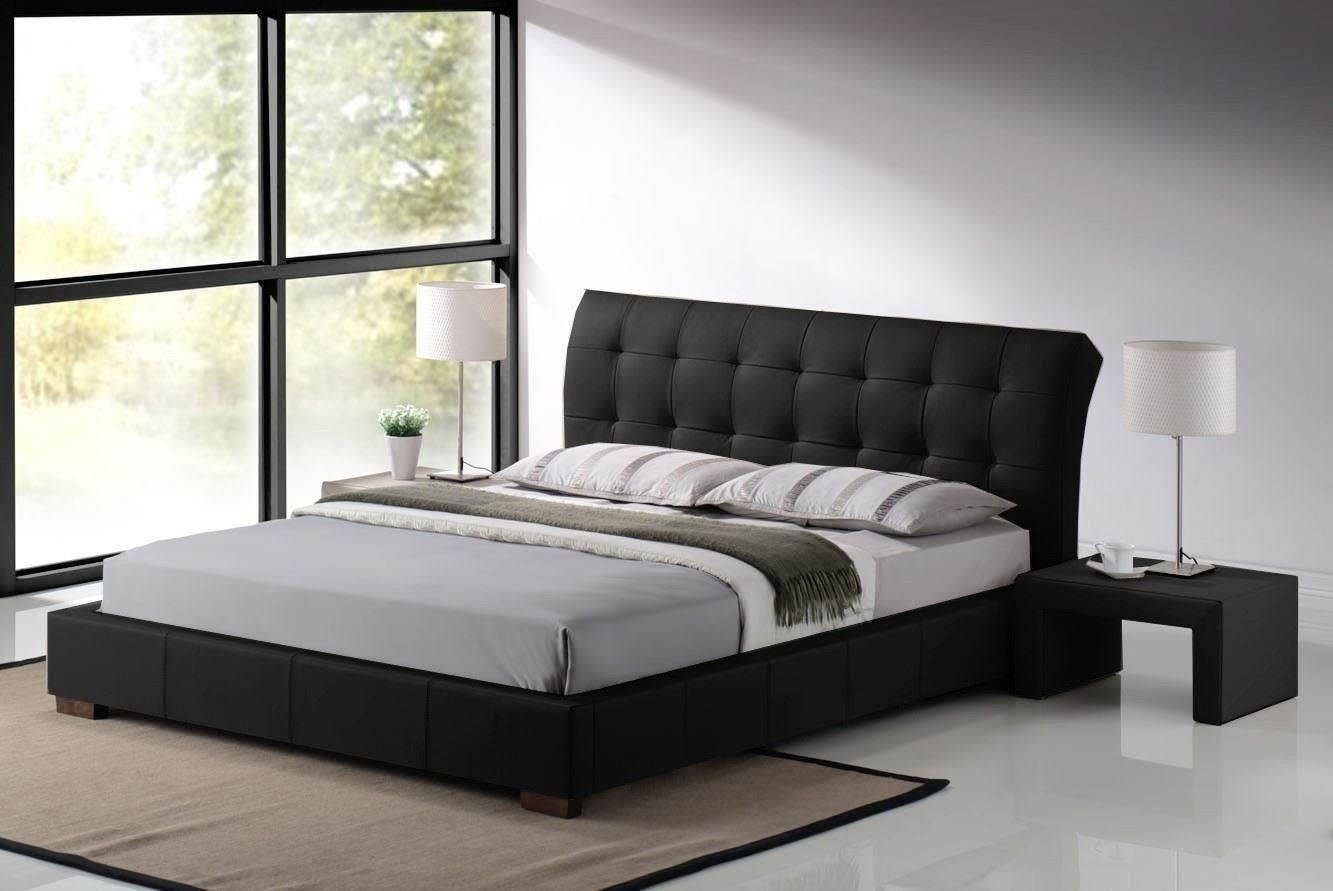 King Size Bedroom Furniture Fabio Double Or Kingsize Leather Classic Bed Frame Mattress