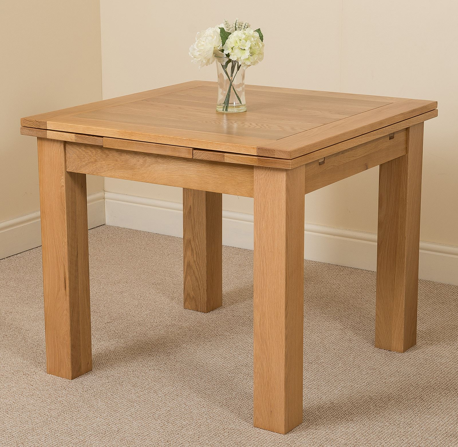 Oak Dining Room Furniture: Richmond Solid Oak Wood Small 90