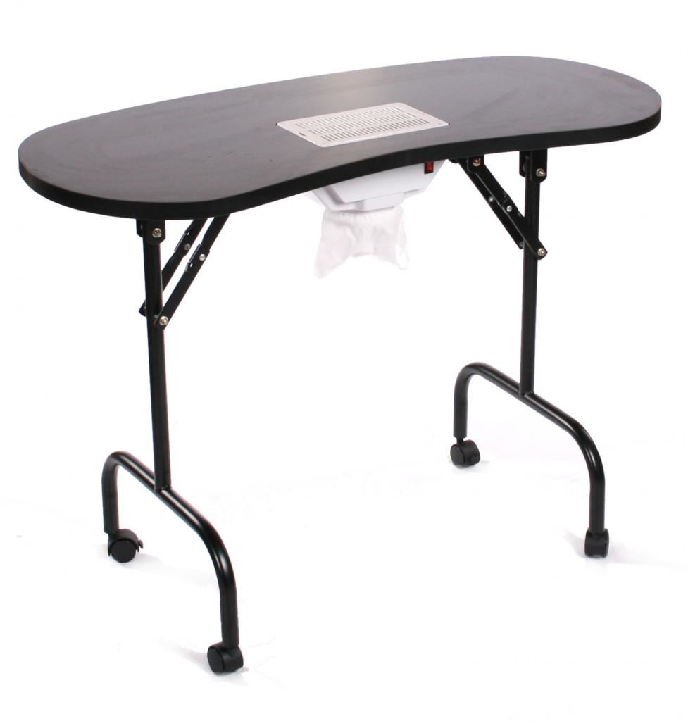 Urbanity Portable Mobile Manicure Nail Table With