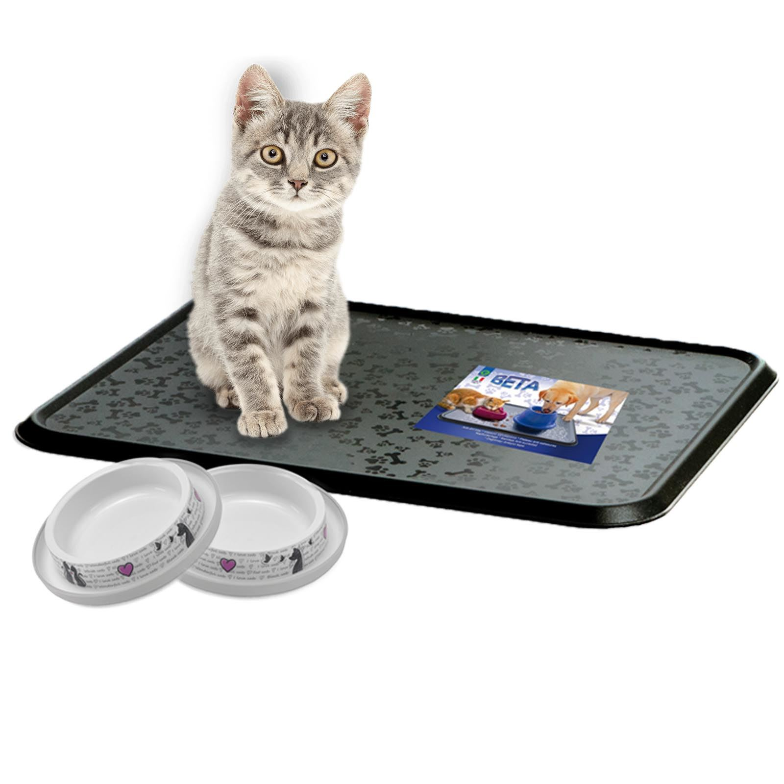gift dog listing mats il red bowl fullxfull placemat cat mat food personalized black pet white