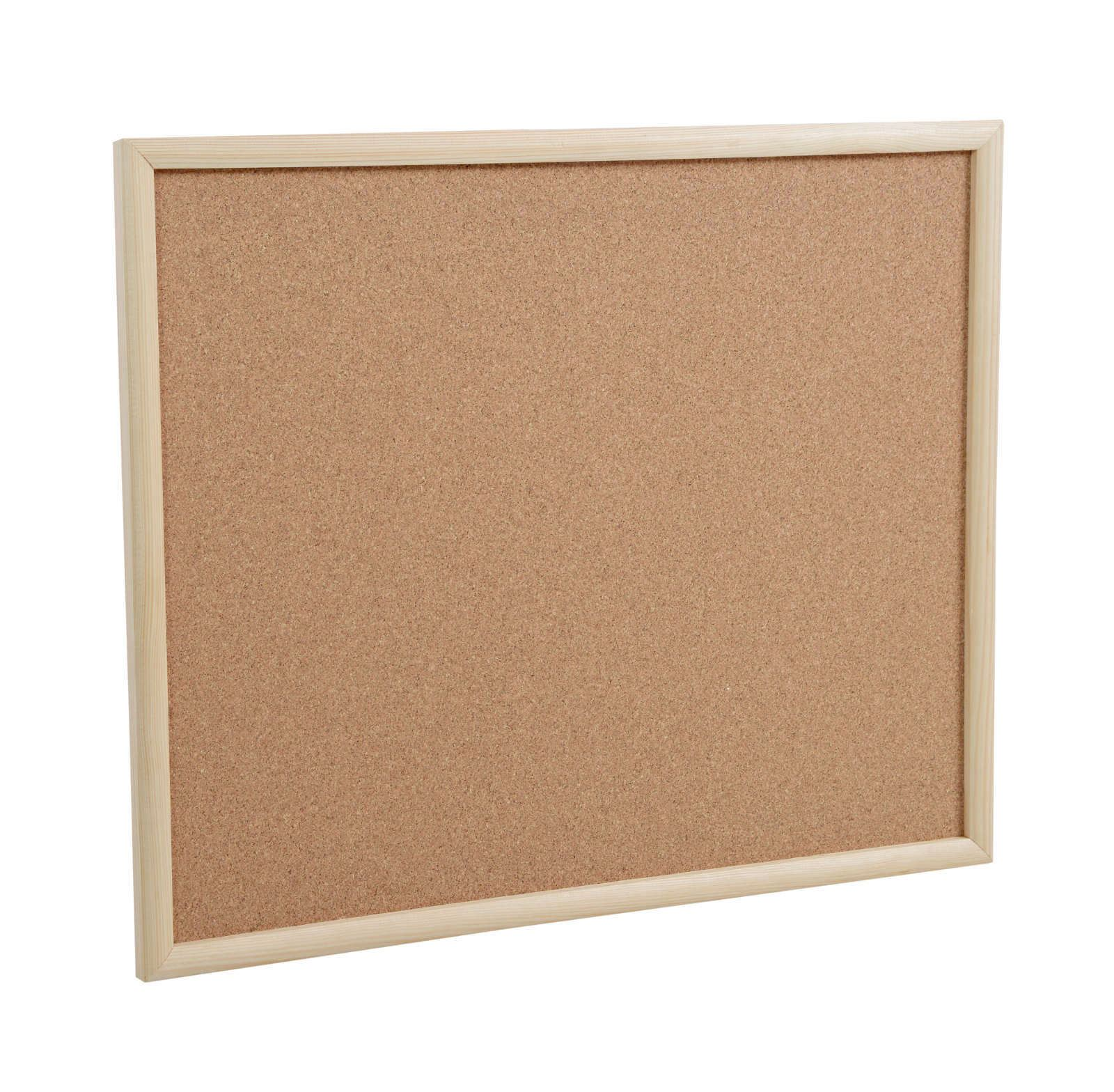 Nice Cork Pin Message Notice Board Wooden Frame Office