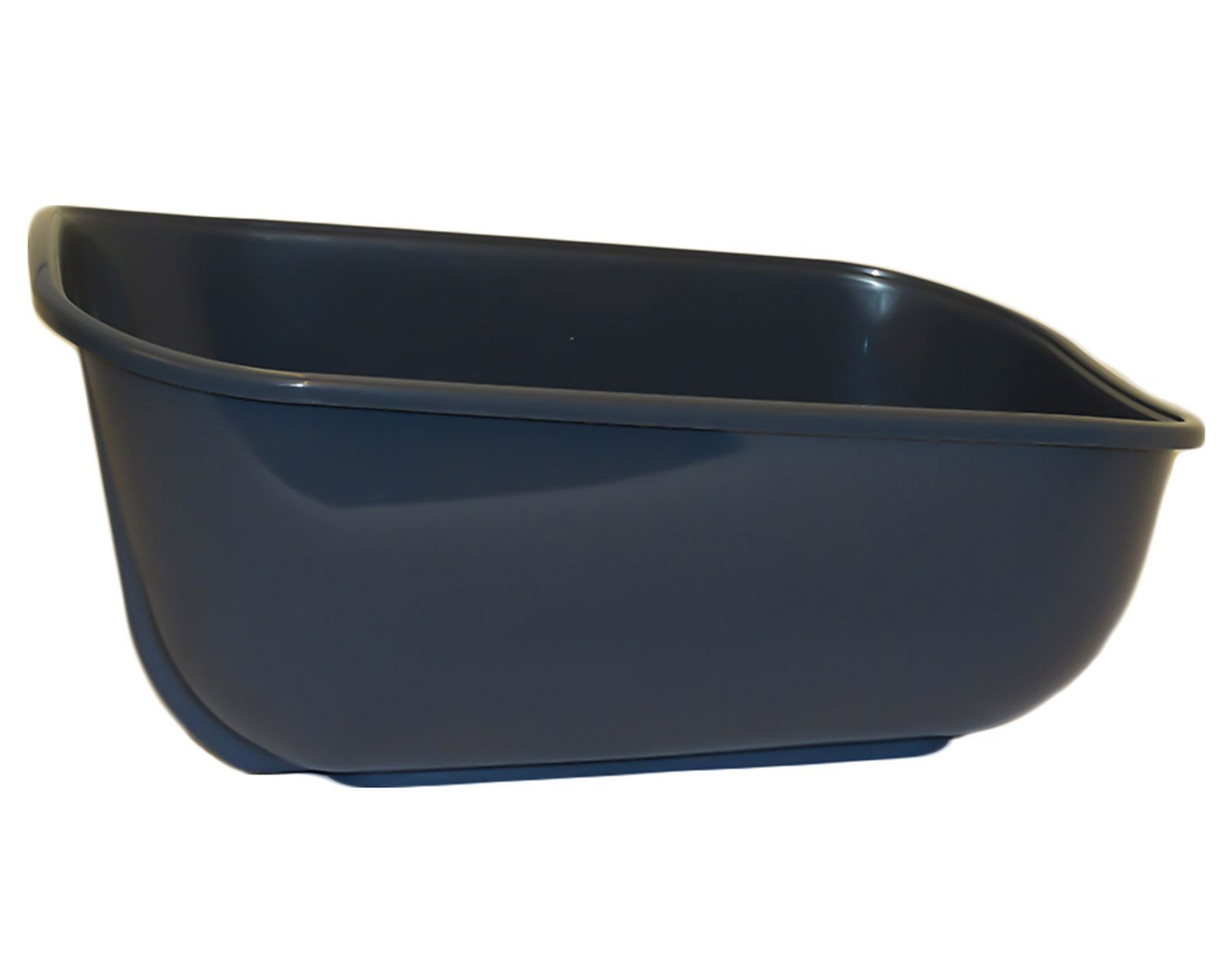 Extra Deep Large Cat Litter Tray Dark Grey Box Pan Toilet Loo High Sided 7426828477184 Ebay