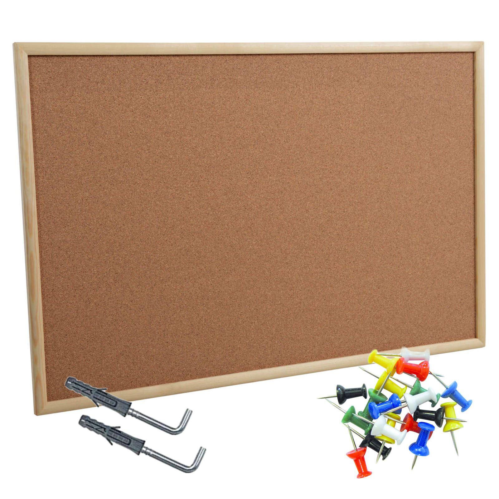 office pinboard. Cork-Pin-Message-Notice-Board-Wooden-Frame-Office- Office Pinboard B