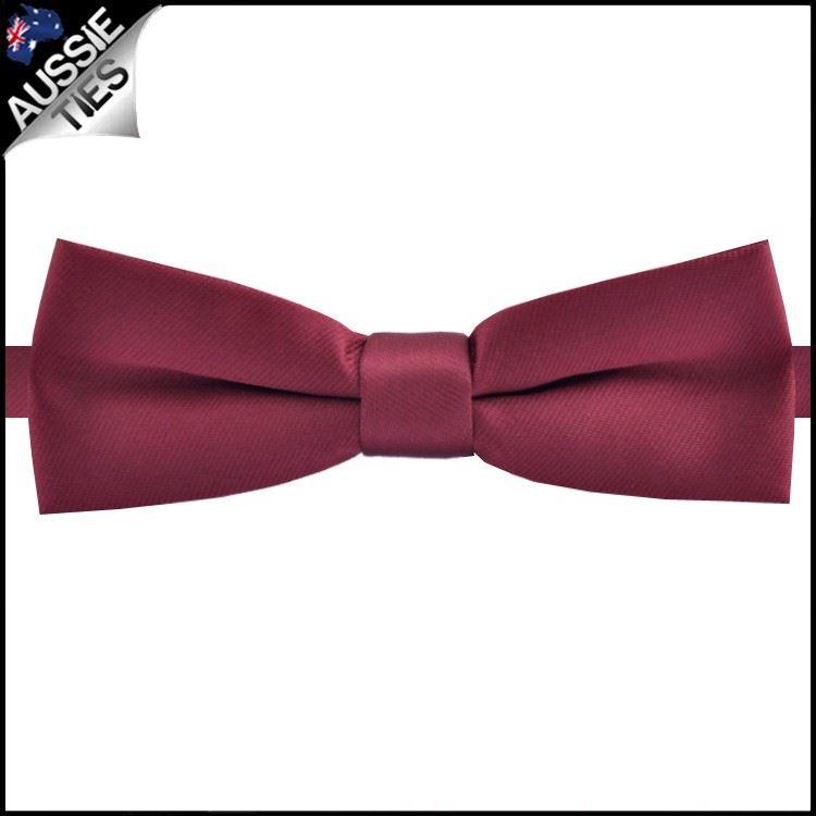 Men/'s Fashion Burgundy Wedding Neck Tie Necktie Narrow Slim Skinny SK281