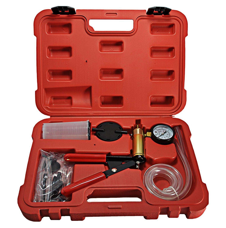 Manual Freno de Purga Ensayador Set Purga Kit Bomba de Vacío Coche Y Moto