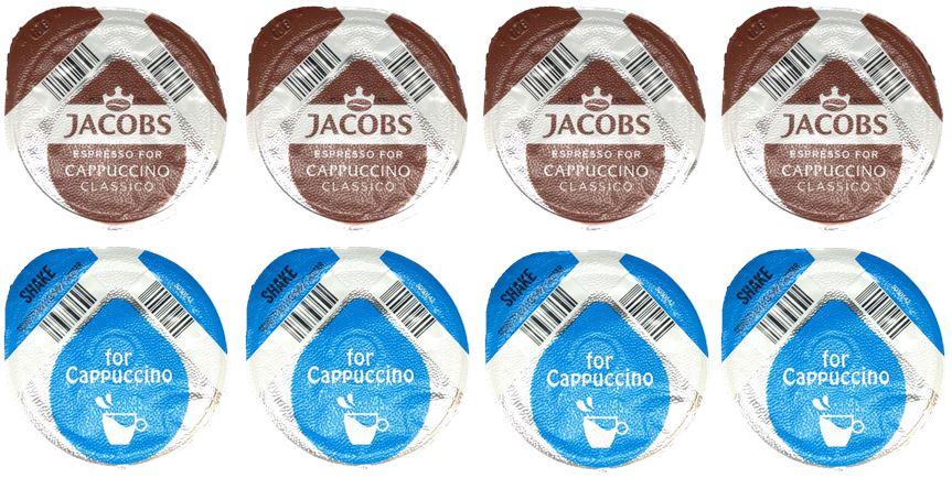 thumbnail 38 - Tassimo Coffee Latte Chocolate Espresso 8 Disc Mix Match Sample Taster HALF PACK