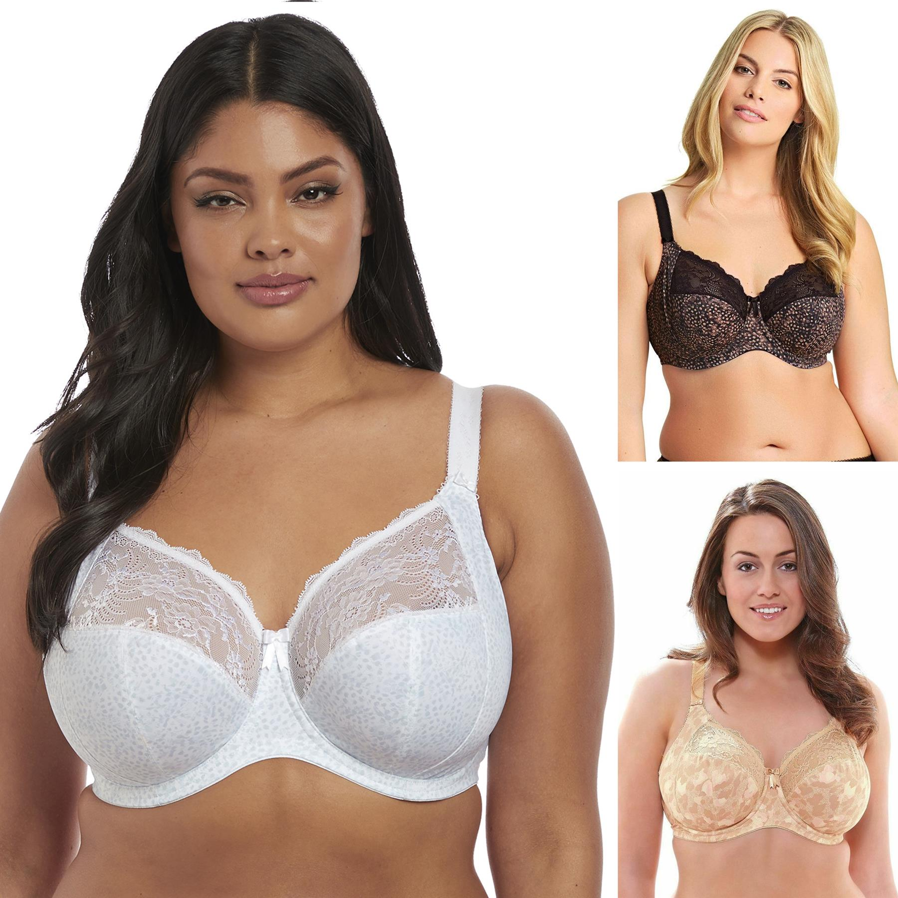 Elomi Morgan Bra Underwired Full Cup Coverage 4110 Plus Size DD to K