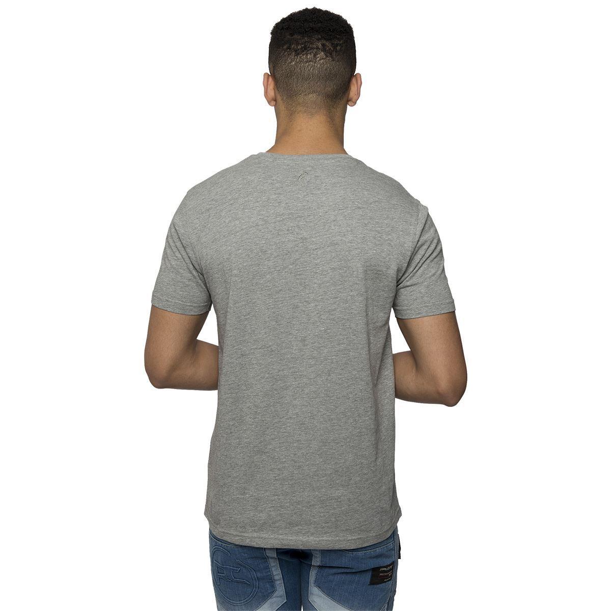 Kangol Mens Casual Plain T Shirt Branded Print Tee Short