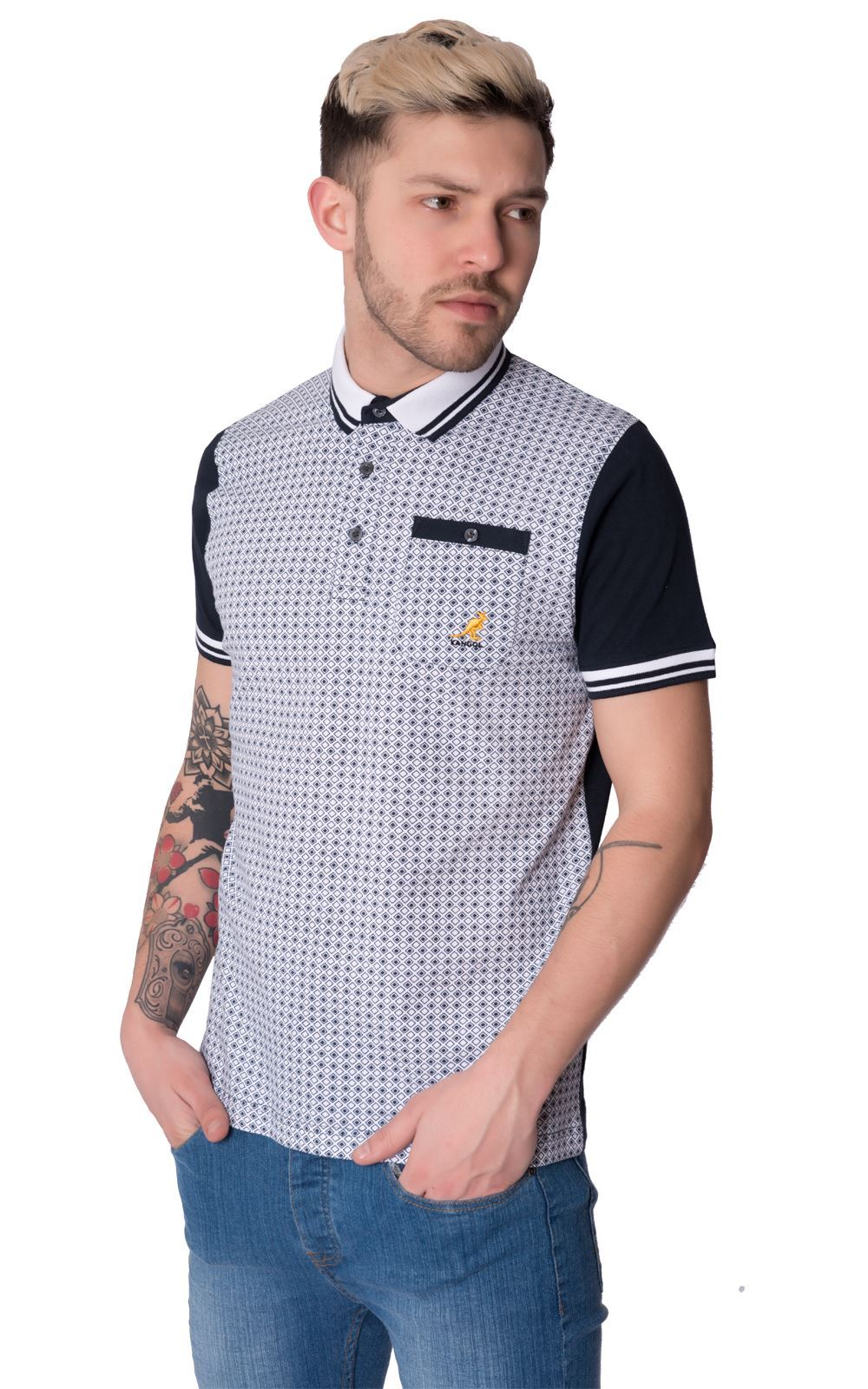 Mens Latest Short Sleeve Regular Fit Polo Shirt Tee Top By