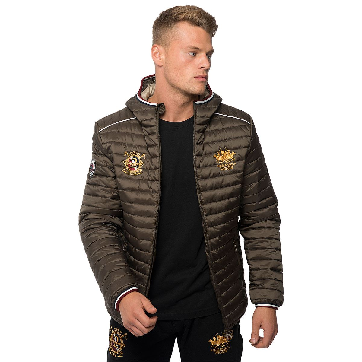 Polo club jacke micro zipper