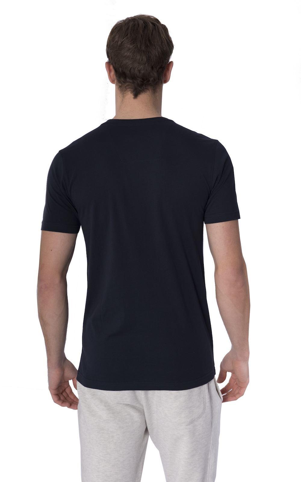 Santa-Monica-NUEVO-Watson-Grande-Hombre-Talla-Jersey-Cuello-Redondo-Camiseta-Top